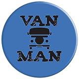 Van Man Vintage Mini Van Life Gift PopSockets Grip
