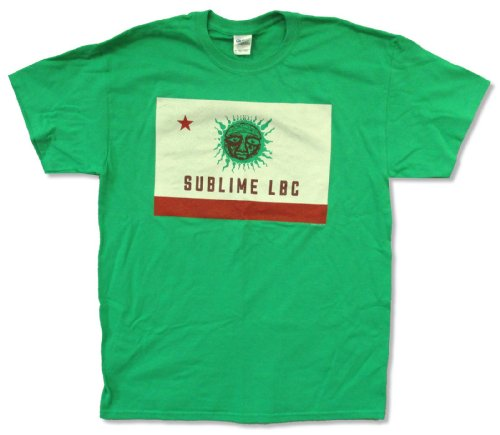 Adult Sublime Green LBC Green T-Shirt (Small)