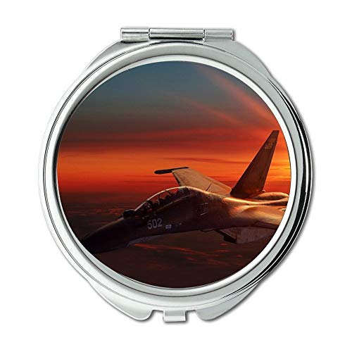 Yanteng Fighter Jets,Mirror,Travel Mirror,Street Fighter v,Pocket Mirror,Portable Mirror (Street Fighter Calendar)