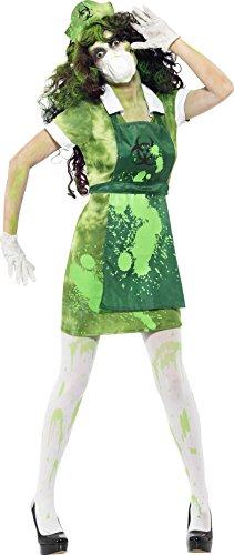 Biohazard Costumes (Smiffys Women's Biohazard Female Costume)