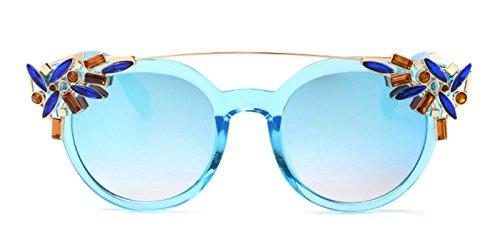 Slocyclub Women Gorgeous Fashion Colored Diamond - Sunglasses Oliver Peoples Like