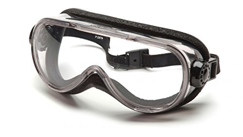 Pyramex Anti-Fog Top Shelf Chemical Splash Goggle With Foam - Goggles Top