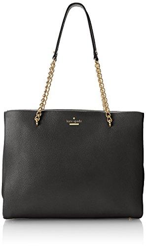kate spade new york Emerson Place Smooth Phoebe Shoulder Bag Black One Size