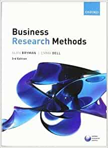 Bryman bell business research methods