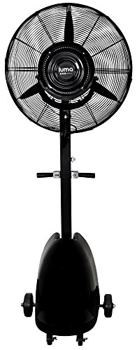 Luma Comfort MF26B High Power Misting Fan - All Metal 26