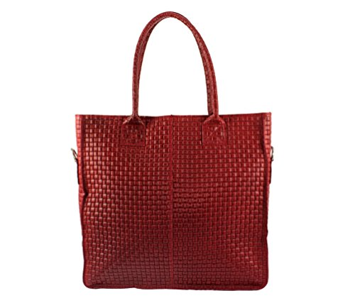Italie A cuir Tressy Cabas Cuir Plusieurs Sac sac sac Femme Clair sac Cuir Cabas Coloris sac sac Sac Femme Rouge sac Cabas Chloly xIaqnwtUw
