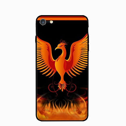iPhone 6S Case/iPhone 6 Case, Phoenix Rising from Ashes Printed Clear Design Case with TPU Bumper Protective Case Cover for iPhone 6/6S for $<!--$6.02-->