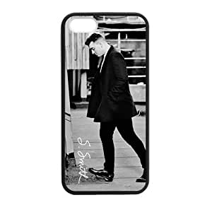 At-Baby Design Star Sam Smith Pattern Iphone 5 5S Back Phone Case (Laser Technology)