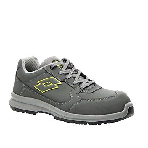 design innovativo 8df11 26086 Lotto Works Safety Shoe T8135 Race 200 S3 Asphalt/Green TQ ...
