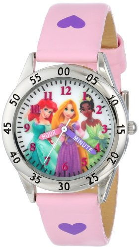 - Disney Kids' PN1171 Watch with Pink Band