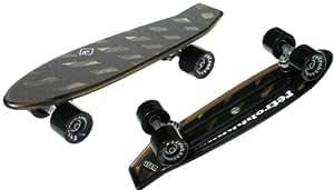 "Atom 21.5"" Mini Retroh Molded Skateboard - Black"