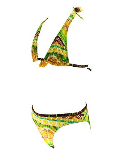 Lolita Angels Gelb Badeanzug 2 Teile Triangel Tiny Brett Salsa Gelb BIF4ly