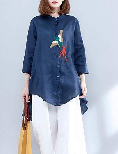 Da White Camicia Yfltz Geometrico Supporto Donna T5SnHxOwqR