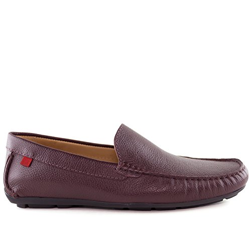 Marc Joseph New York Mens Broadway Loafer Wijn Korrelig