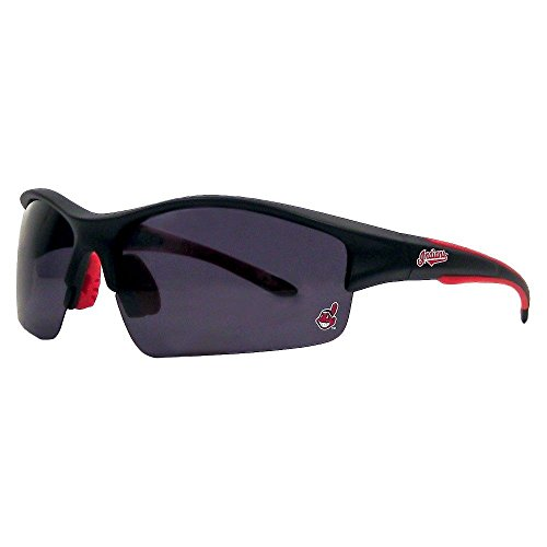 California Accessories MLB Cleveland Indians Chief Sunglasses Polarized UV400 Cleveland Indians Sunglasses