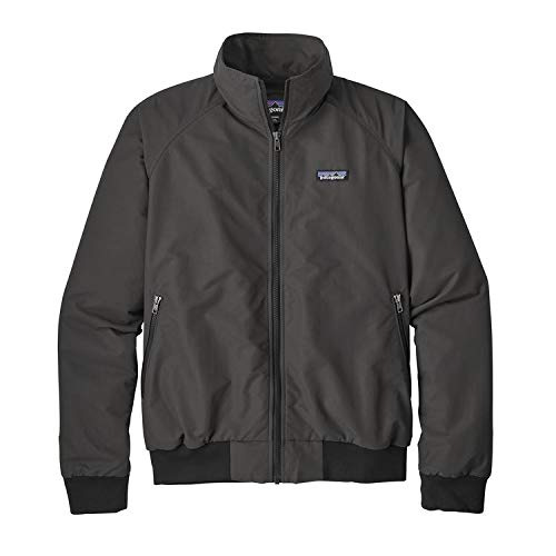 - Patagonia Men's Baggies Water-Resistant Jacket Ink Black Size Large