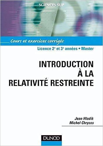 cours relativité restreinte pdf