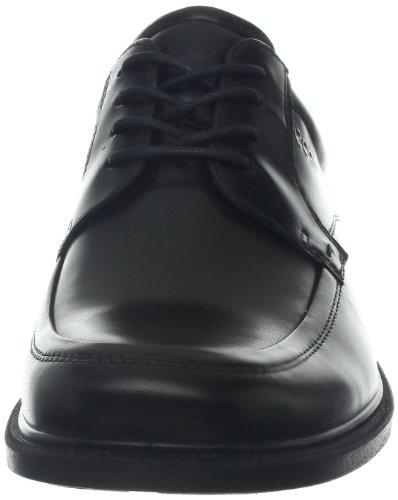 Ecco Dublin Mannen Derby Lace Up Brogues Zwart (black 1001)