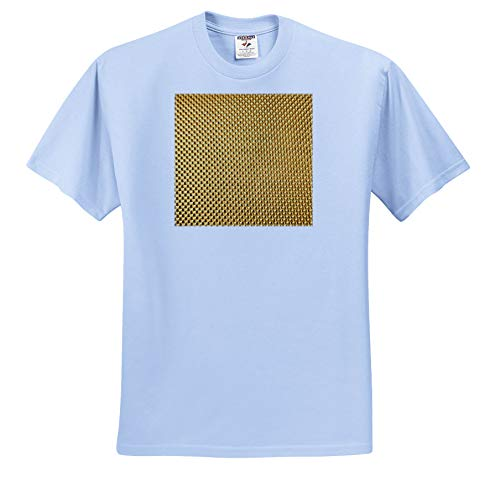 Lens Art by Florene - Everything Gold - Image of Small Gold Beaded Pattern - T-Shirts - Light Blue Infant Lap-Shoulder Tee (12M) (ts_291046_76)