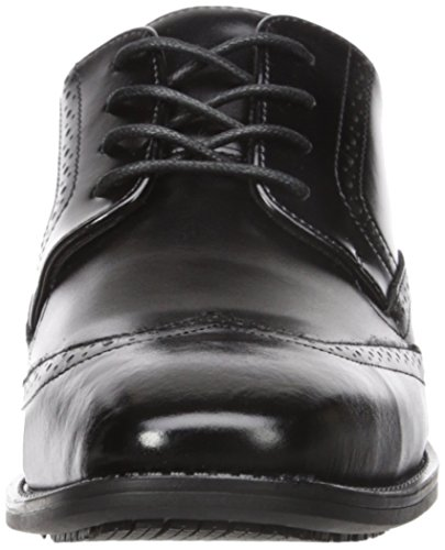 Stacy Adams Men's Adler Slip Resistant Wingtip Oxford Black outlet big sale qP4UdfZMv