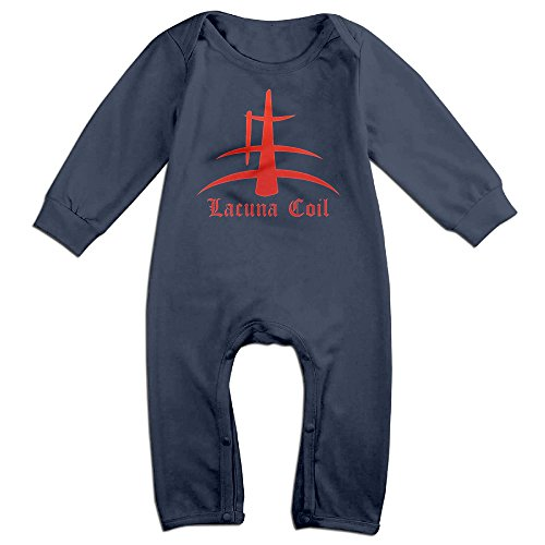 Ahey Babys Italian Metal Band Long Sleeve Bodysuit Outfits 18 Months