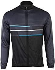 Camisetas de Ciclismo, Hombres Jersey Pantalones Largos Mangas Largas de Ciclismo Ropa para Deportes al Aire Libre Ciclo Bicicleta(XL-# 03)