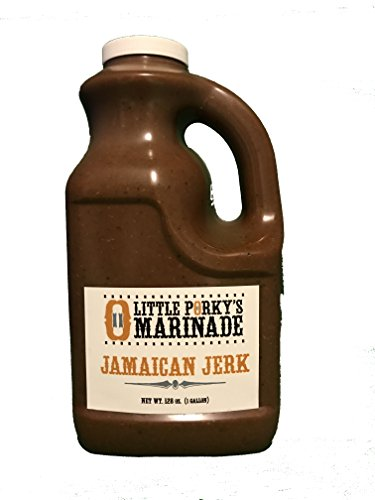Jamaican Jerk Chicken Wings - Little Porky's Marinade Jamaican Jerk 128oz