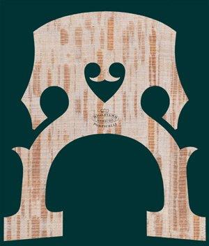 Milo Stamm Standard cello bridge, F shape, 90mm