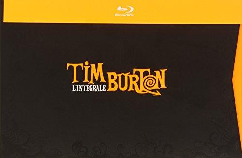 Tim Burton Collection - 16-Disc Box Set ( Pee-wee's Big Adventure / Beetlejuice / Batman / Edward Scissorhands / Batman Returns / The Nightmare Before Christmas [ Blu-Ray, Reg.A/B/C Import - France ] Henry Selick Nightmare Before Christmas