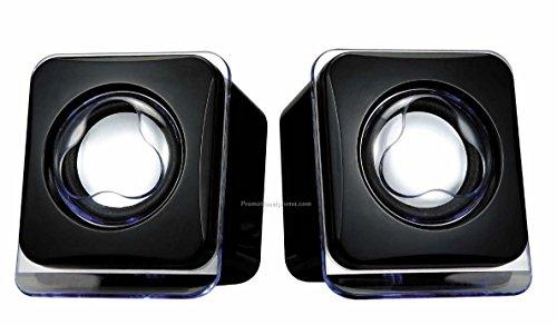 ADNET USB 2.0 Mini Speakers Black 201