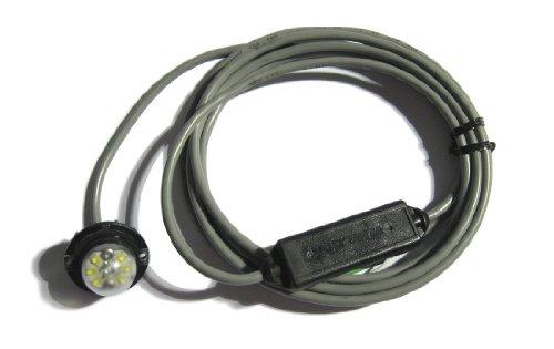Whelen Engineering Vertex Super-LED Light - Clear, Model# NT163782