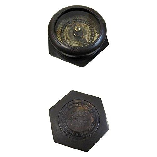 Armor Venue Brass Hexagonal Compass - antique A JOURNEY of 1000 MILESÉ Outdoor Camping Gear by Armor Venue