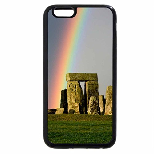 iPhone 6S / iPhone 6 Case (Black) Rainbow at Stonehenge