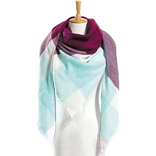 Calvin Klein Satin Tie (Top quality za Winter Scarf Plaid Scarf Designer Unisex Acrylic Basic Shawls Women's Scarves hot)