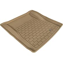 3D MAXpider Cargo Custom Fit All-Weather Floor Mat for Select BMW 3 Series (E90) Models - Kagu Rubber (Tan)