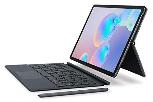 "Samsung Tab S6 10.5"" (T860) Bookcover Keyboard Gray-EF-DT860UJEGUJ (Renewed)"