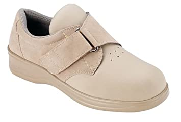 Image Unavailable. Image not available for. Color  Orthofeet Wichita 824  Women s Beige Elastic   Spandex Strap Shoes a8cc4cb06