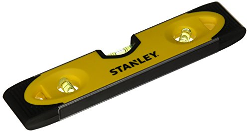 Stanley 43-511 Magnetic Shock Resistant Torpedo Level (Off Roll Levelers)