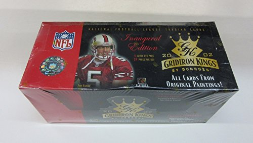 2002 Donruss Gridiron Kings Football Box (Hobby) (Gridiron 2002 Kings)