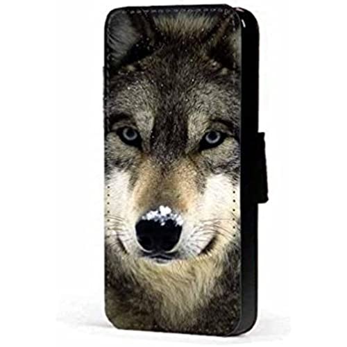 wolves snow nose faux PU leather wallet mobile phone case cover for Samsung Galaxy S7 Edge Sales