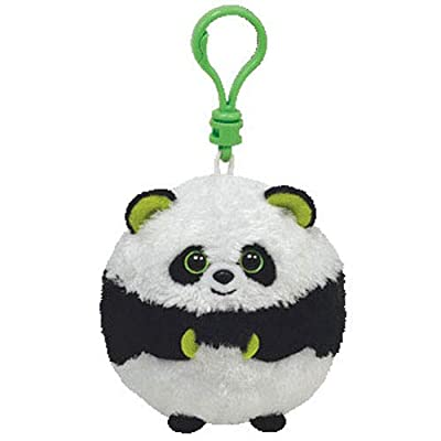 Ty Beanie Ballz - Bonsai-Clip the Panda: Toys & Games