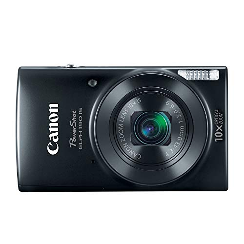Canon Cameras US 1084C001 Canon PowerShot ELPH 190 Digital Camera w/ 10x Optical Zoom and Image Stabilization – Wi-Fi…