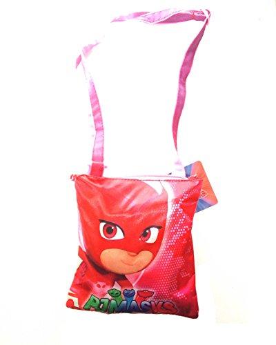 Coriex GUFETTA PJ Masks flache Schultertasche Kinder-Sporttasche A95755 MC, 20 cm, Multicolor