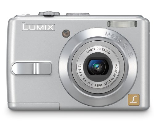 7 Lumix Megapixels Panasonic Cameras - Panasonic Lumix DMC-LS70S 7MP Digital Camera with 3x Image Stabilized Zoom