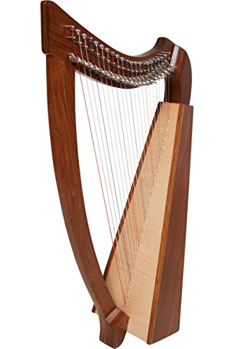 Heather Harp TM, 22 Strings, Natural by Roosebeck