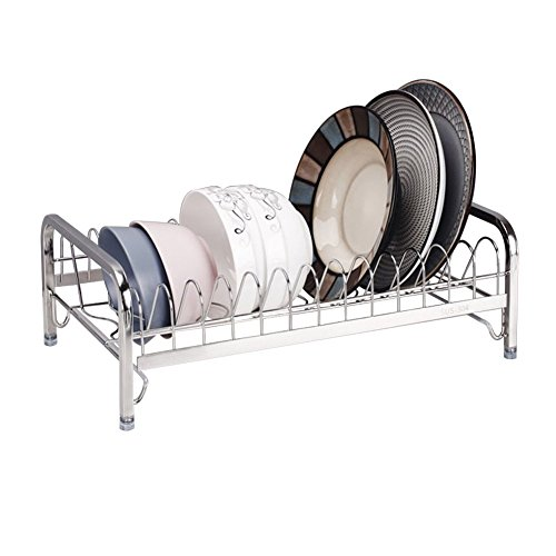 SUS 304 Stainless Steel Dish Rack ,Stylish Sturdy Stainless