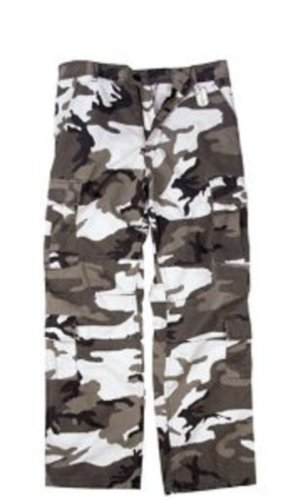 Camouflage Pants City Camo Vintage Paratrooper Fatigues MED