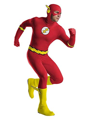 Charades DC Comics The Flash Adult Costume, As Shown,