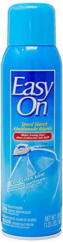 Easy-On Speed Starch Fabric Care Spray, Crisp Linen 20 oz Can
