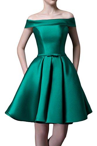 Party Liebling vestito Ball sera da A VON Dress Verde da a Donna abito linea Spalla U ivyd der Scollo ressing della xOaZqXq